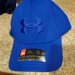 Under Armour Mens Fitted Hat Large